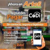Paga con CODI