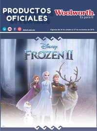 Productos Oficiales Frozen II