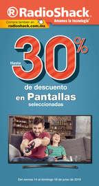 30% de descuento en pantallas seleccionadas