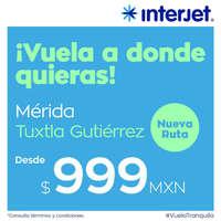 Mérida - Nueva ruta