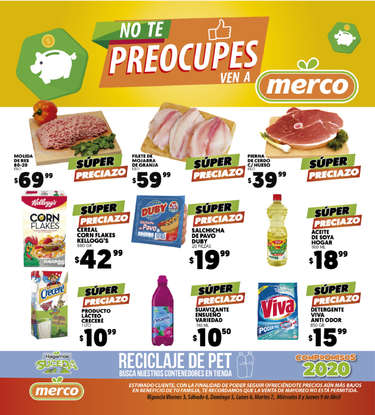 No te preocupes ven a Merco- Page 1