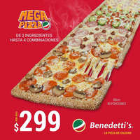 Mega Pizza $299