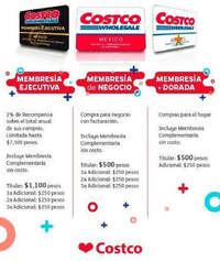 Costos de membresía