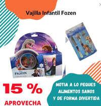 -15% en vajilla Frozen