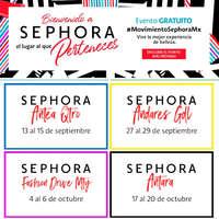 Eventos de Septiembre y Octubre