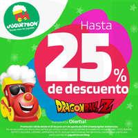 Hasta 25% de descuento en Dragon Ball Z