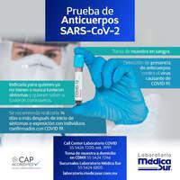 Prueba anticuerpos SARS-CoV-2