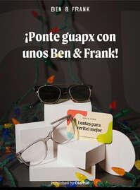 Ponte guapx con unos Ben & Frank