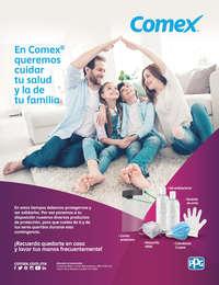 En Comex queremos cuidar tu salud y la de tu familia