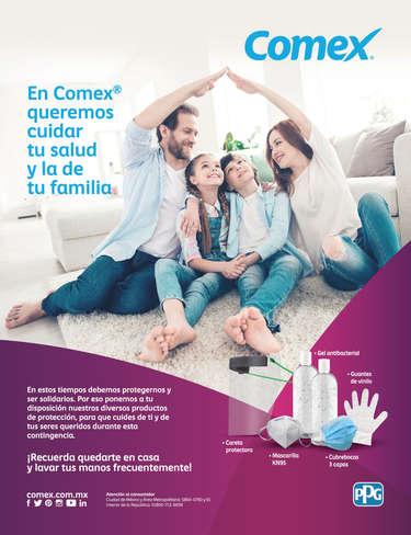 En Comex queremos cuidar tu salud y la de tu familia- Page 1