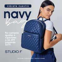 Llévate el navy bag