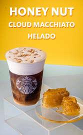 Honey Nut Cloud Macchiato Helado