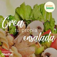 Crea tu propia ensalada