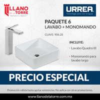 Promo lavabos Paquete 6