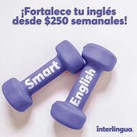 ¡Fortalece tu inglés desde $250 semanales!