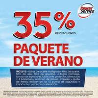 Paquete de verano - 35% de descuento
