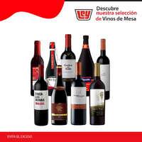 Disfruta de los mejores vinos de mesa