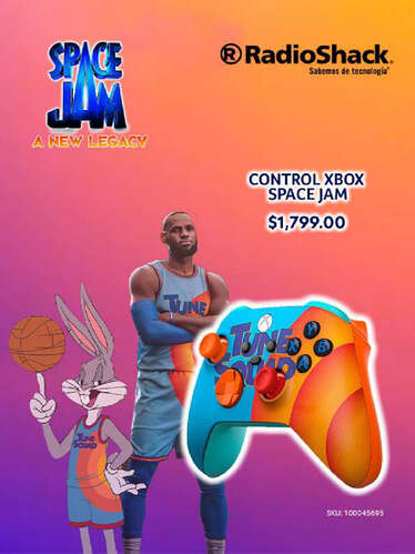 Control Xbox Space Jam- Page 1