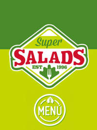 Menú Super Salads