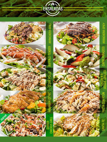 Menú Super Salads- Page 1