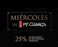 Miércoles de PF Changs