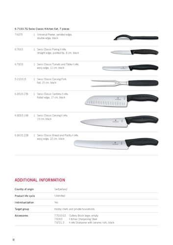 Catálogo suplementario 2020 - hogar y cuchillos- Page 1