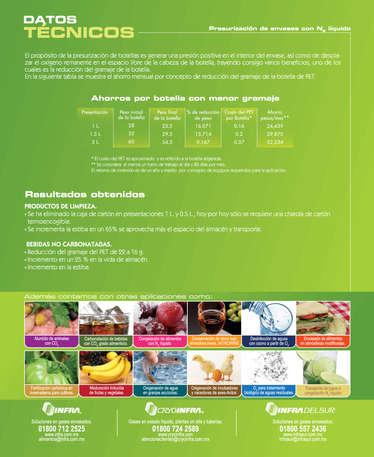 Presurización de envases con N2 líquido- Page 1