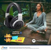 Audífonos Bluetooth Motorola Escape 500
