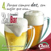 2x1 en bar