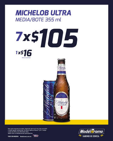 Michelob Ultra- Page 1