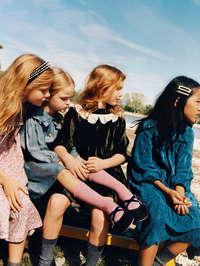 Zara Kids Dress Time