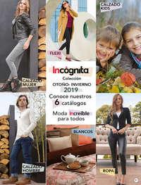 Catálogo Incógnita Blancos Otoño Invierno 2019