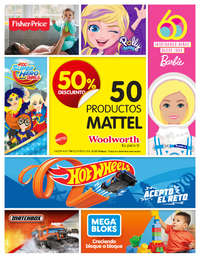 Mattel: 50% de descuento | CDMX