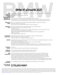 BMW X1 sDrive18i 2021