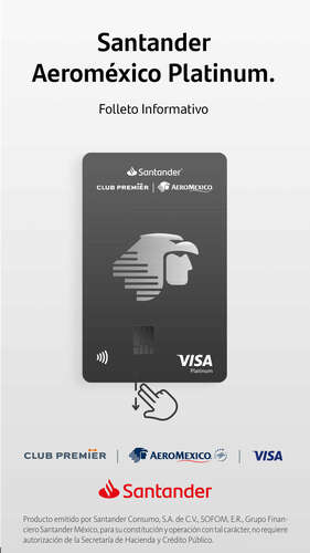 Santander Aeroméxico Platinum- Page 1