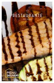Menú El Restaurante Palacio