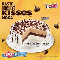 Pastel Hershey's Kisses Moka