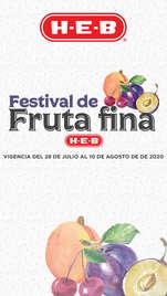 FESTIVAL DE LA FRUTA FINA