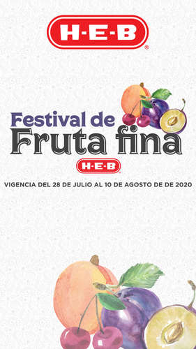 FESTIVAL DE LA FRUTA FINA- Page 1