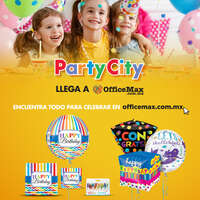 Party city llega a Office Max