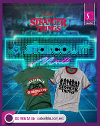 Playeras Stranger Things