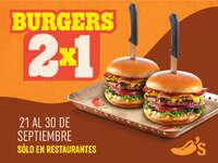 Burgers 2x1
