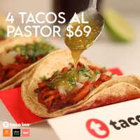 4 tacos al pastor