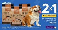 2x1 en alimento para perro Upland