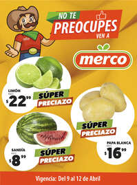No te preocupes, ven a Merco - Sal y NL