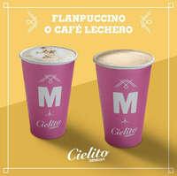 Flanpuccino o café lechero