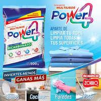 Detergente power 4 de venta en zorro