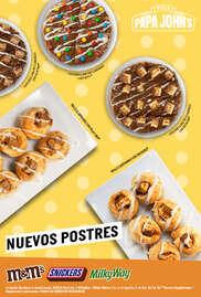 Nuevos Postres