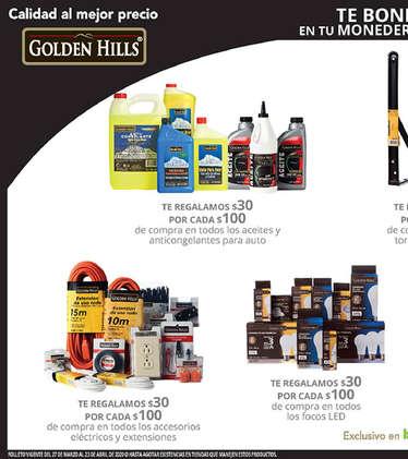 Calidad al mejor precio, Golden hills Alto- Page 1
