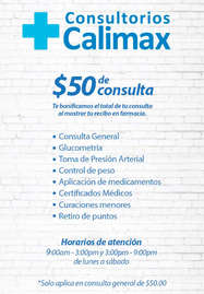 Consultorios calimax